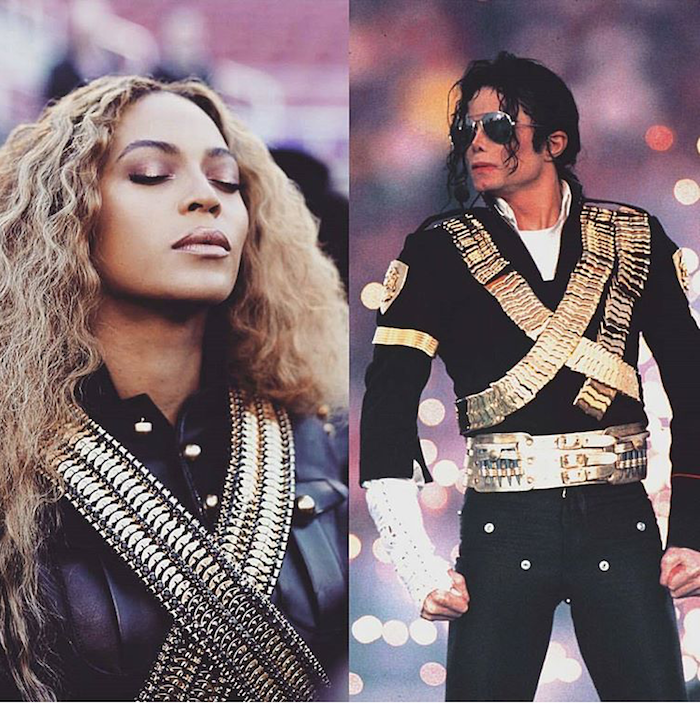 beyoncé-tribute-michael.jackson-dsqaured-dress