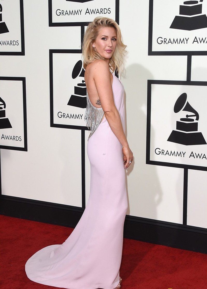 LOS ANGELES, CA - FEBRUARY 15:  Singer Ellie Goulding attends The 58th GRAMMY Awards at Staples Center on February 15, 2016 in Los Angeles, California.  (Photo by Jason Merritt/Getty Images for NARAS)