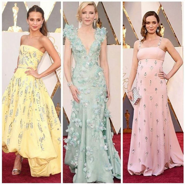 EMILY BLUNT BEST DRESSED AT THE OSCARS 2016