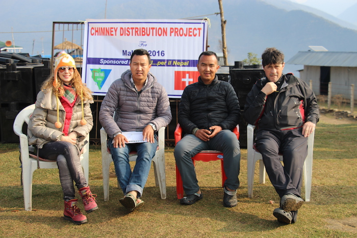 CHIMNES DISTRIBUTION PROJECT IN NEPAL