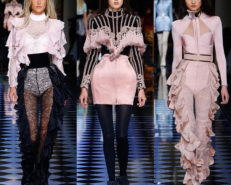 TOP 3 DRESSES AT BALMAIN FALL 2016