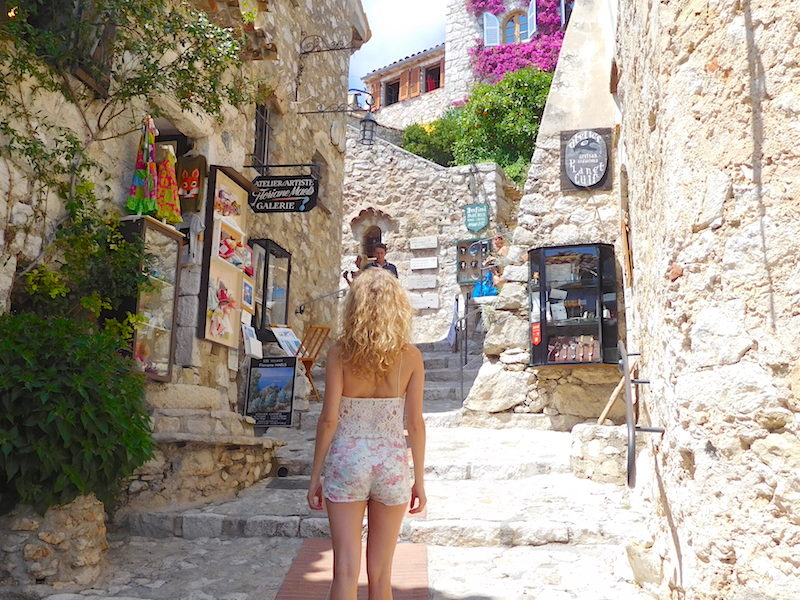 A Summer Day in Eze Village