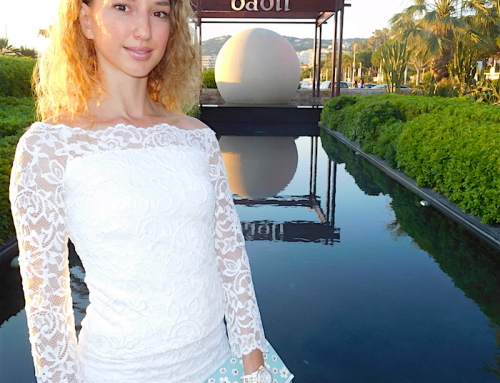 WHITE LACE SUMMER PARTY LOOK