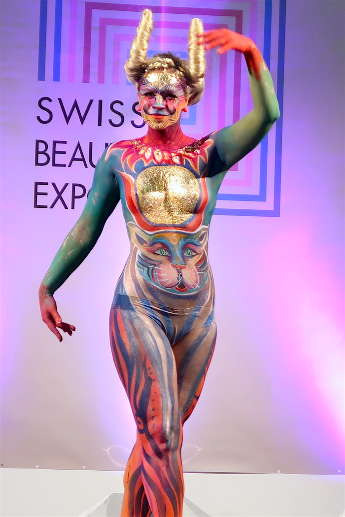 Body Painting Show >> Swiss Beautx Expo The Body Painting Show V Fashion World