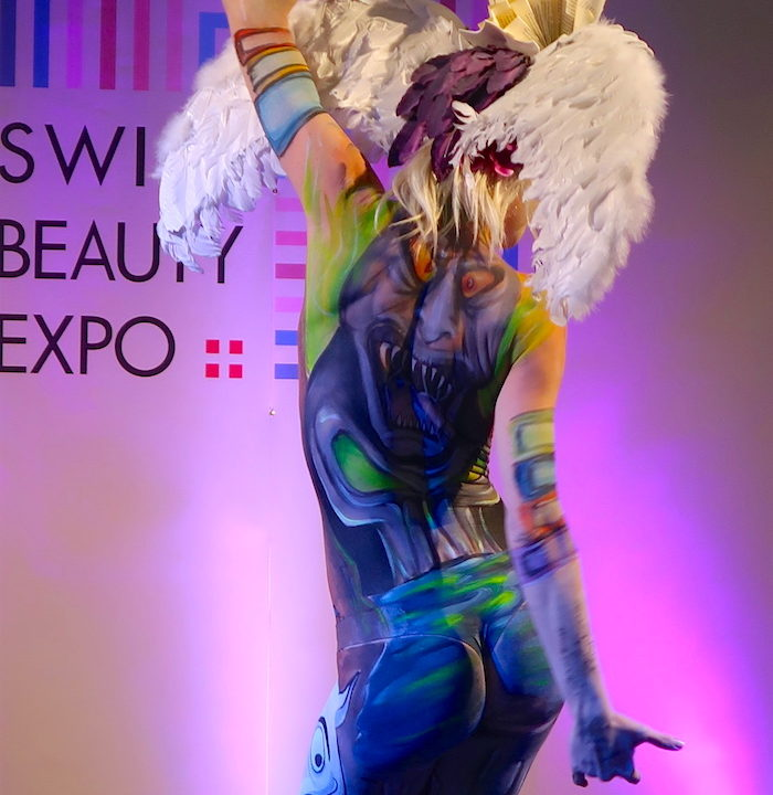SWISS BEAUTX EXPO: THE BODY PAINTING SHOW