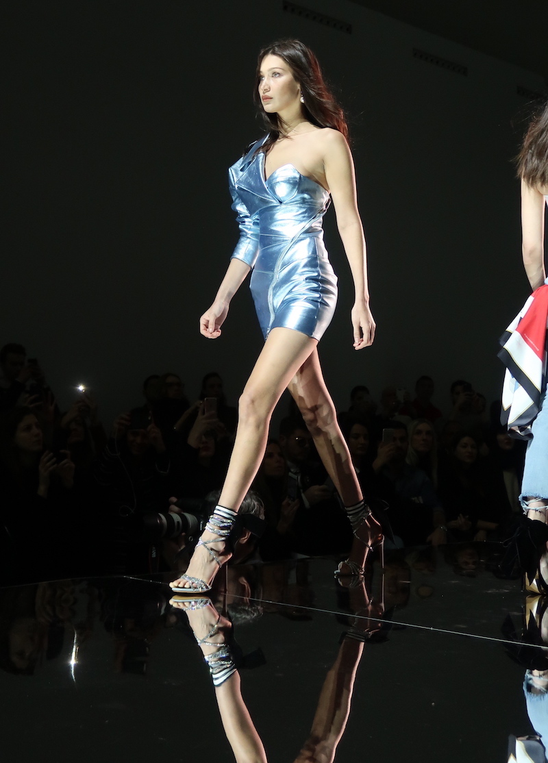 BELLA HADID FIRST MODEL FOR ALEXANDRE VAUTHIER
