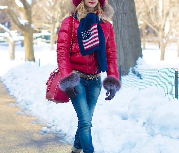 VALENTINA NESSI'S NYC LOOK D'HIVER