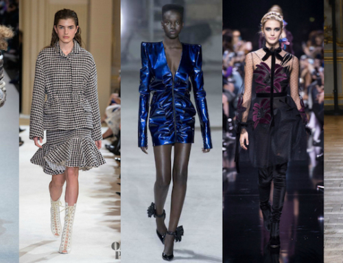 ALL TRENDS FROM PARIS FASHION WEEK FALL WINTER 2017-2018