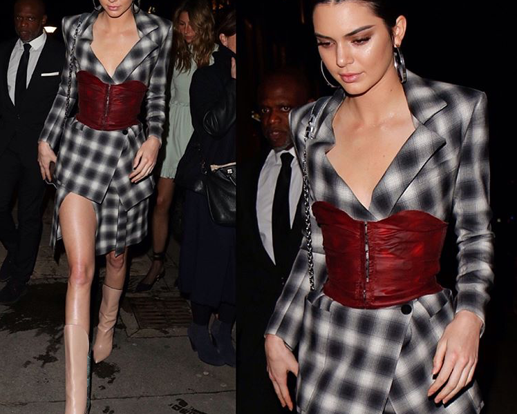 PFW STYLE GOSSIP – KENDALL JENNER