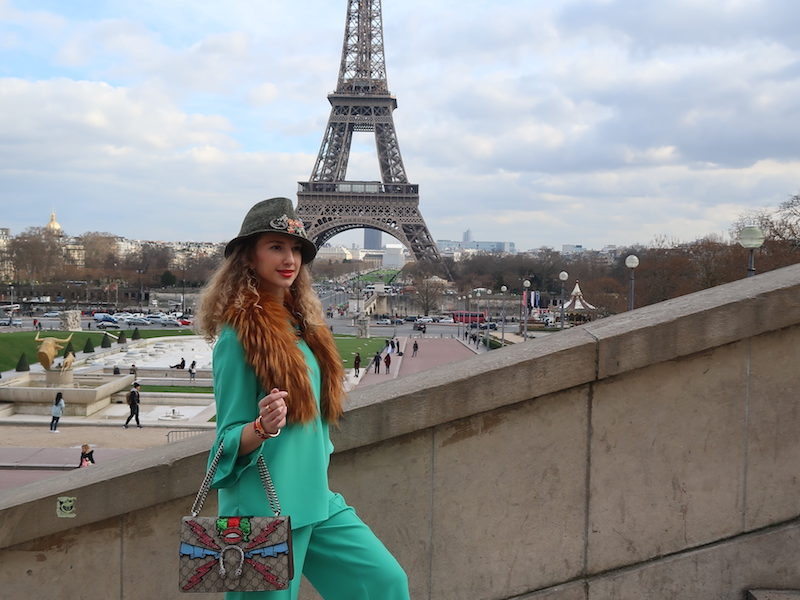 HANITA GOES TO PARIS FASHION WEEK WITH VALENTINA NESSI