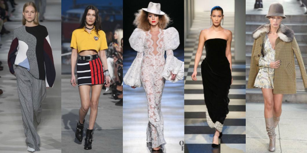 All Trends From Nyfw Fall Winter 2017 2018 V Fashion World