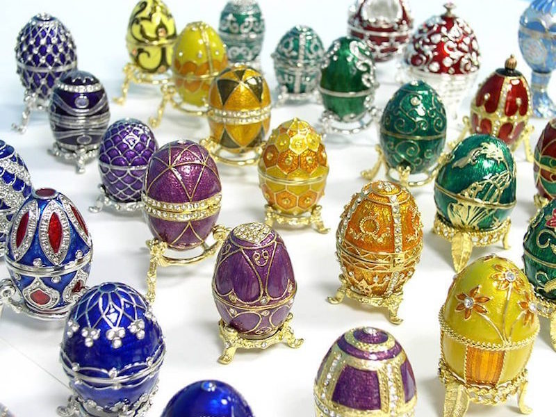 A GOLDEN EASTER WITH THE FABERGE EGGS