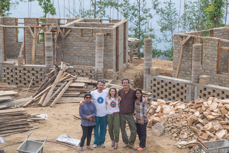 orphanage project nepal working progress 01