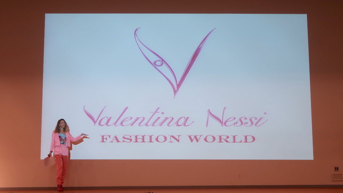 Valentina Nessi Video conference in Tokyo