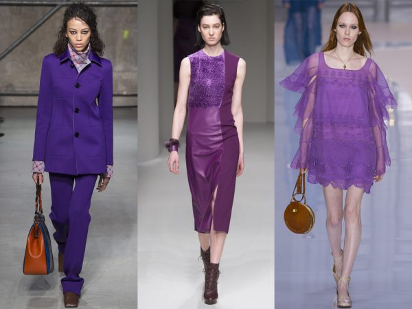 FASHION TRENDS – FIFTY SHADES OF PURPLE