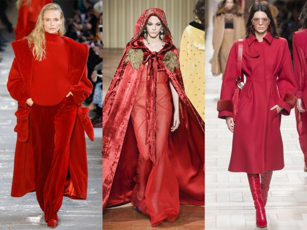 FASHION TRENDS – TOTAL RED