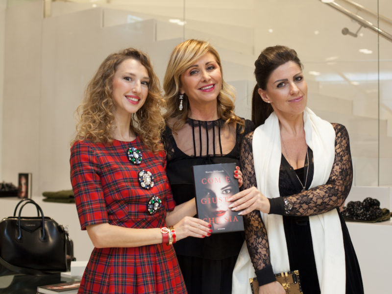 "Presentation of the new novel ""Com'è giusto che sia"" by Marina Di Guardo in Lugano"