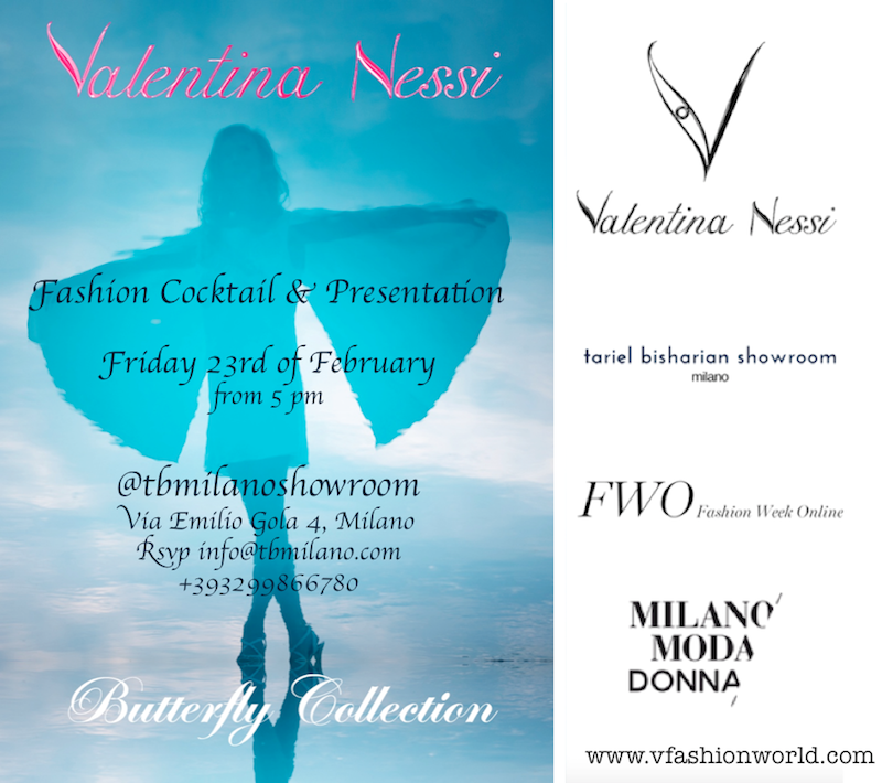 Valentina Nessi collection presentation Milano fashion week - friday 23rd - FWO & Milano Moda Donna & V FASHION WORLD x blog