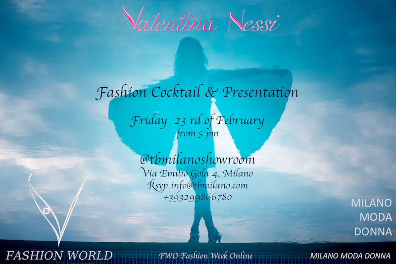 Valentina Nessi presentation Milano fashion week - friday 23rd x V Fashion World x blog