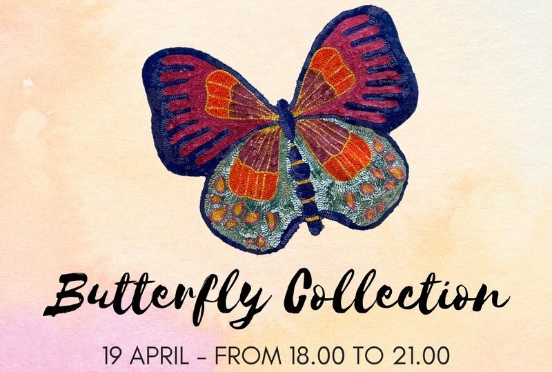 INVITO: EVENTO DI PRESENTAZIONE – BUTTERFLY COLLECTION – AIMO ROOM CONCEPT STORE LUGANO – 19 APRILE