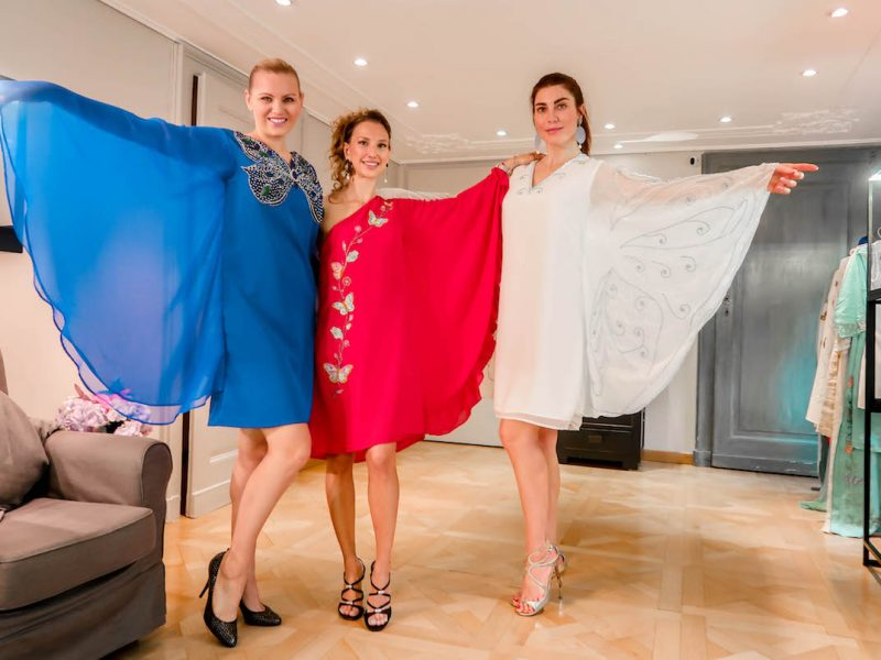 Butterfly Collection Trunk Show au showroom de Michela Bruni