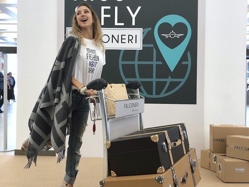 IMMEDIATE BOARDING WITH FALCONERI AIRLINES