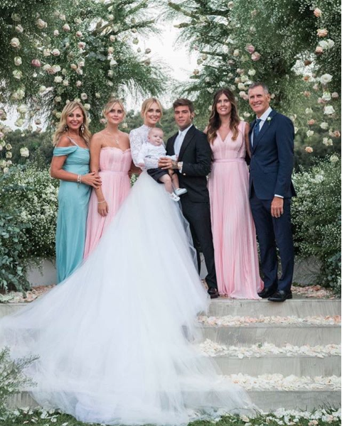 The Ferragnez: Chiara and Fedez social wedding