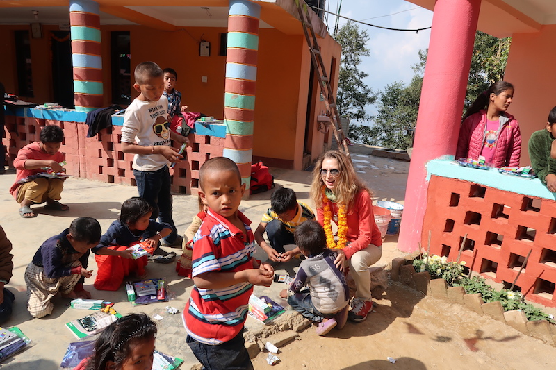 join-valentina-nessi-for-charity-trip-nepal-volunteering-program-november-2019