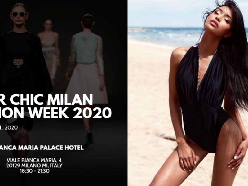 Super Chic Milano Fashion Week & Women Talent System presentano Alessia Siena