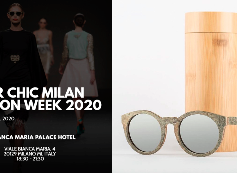 Super Chic Milano Fashion Week presenta Bambood Sunglasses