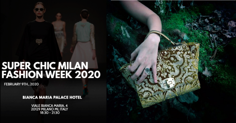 Super Chic Milano fashion week & Women Talent System presents Carola Buccione