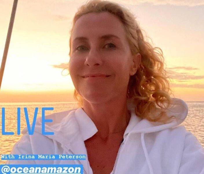 OCEAN AMAZON: LIVE WITH IRINA MARIA PETERSON