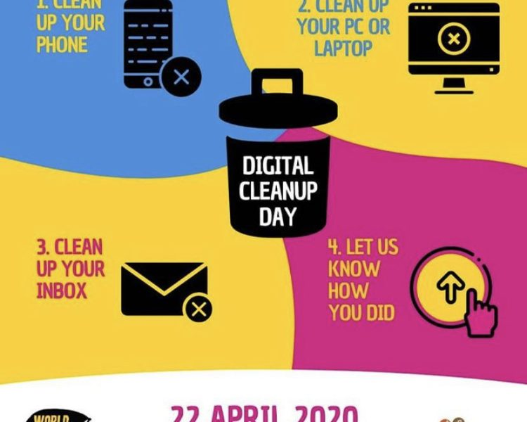 DIGITAL CLEAN UP DAY