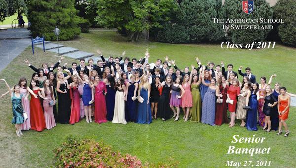 Senior Banquet, class of 2011
