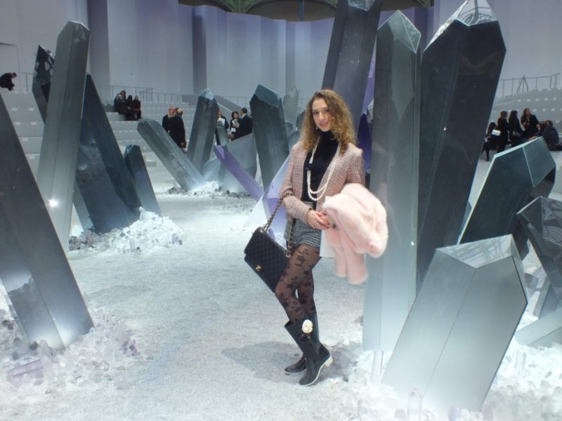 Walking in the Chanel Crystals Valley