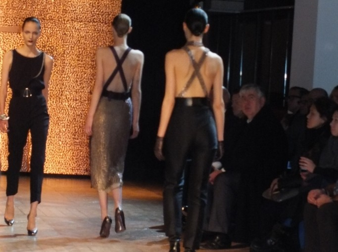 Video of YSL Fashion Show