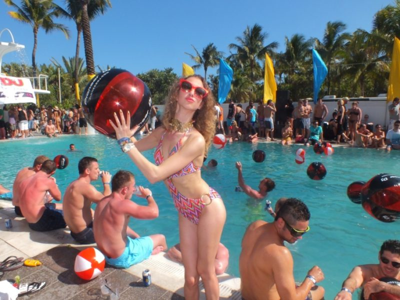 Pool Party at Shelborne Hotel in Miami Beach