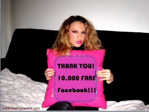 10.000 FANS ON MY FACEBOOK PAGE! THANK YOU!