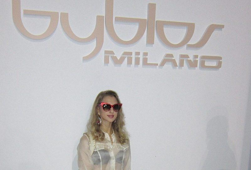 BYBLOS Fashion Show Spring Summer 2013