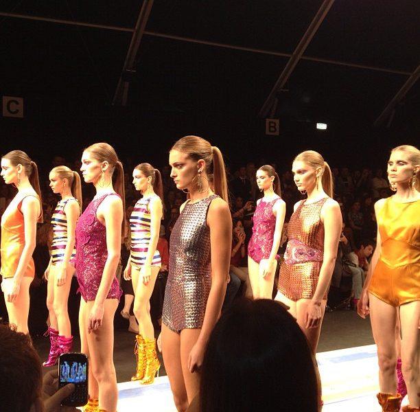 FRANKIE MORELLO Fashion Show Spring Summer 2013