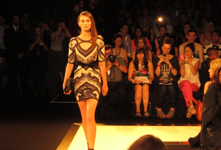 The video of Herve Leger Fashion Show