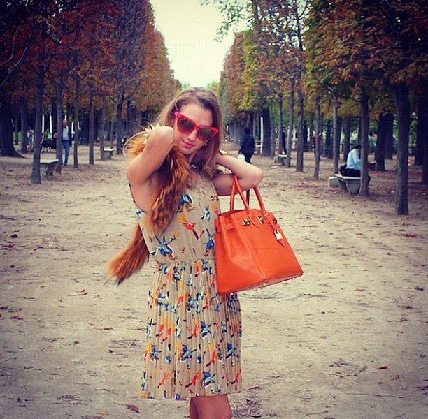 Instagram Pics of Paris Fashion Week