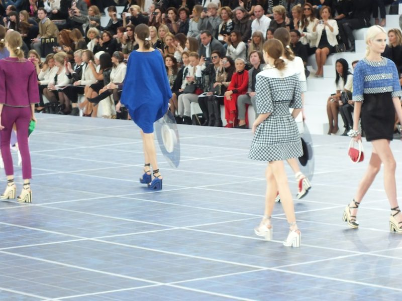CHANEL SPRING SUMMER 2013 FASHION SHOW