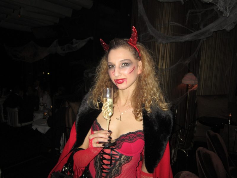 Devil-Vampire for Halloween