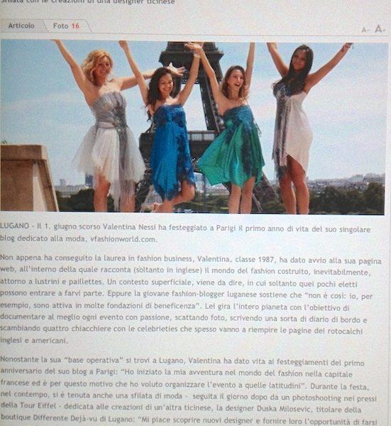 Quando il mondo della moda scorre sul blog – June 2012