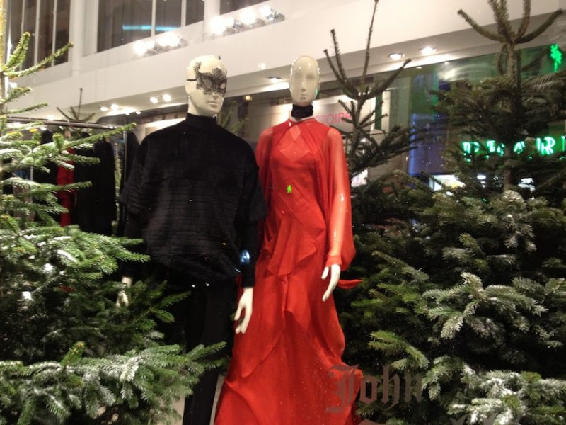 Rue Saint Honore Christmas Windows