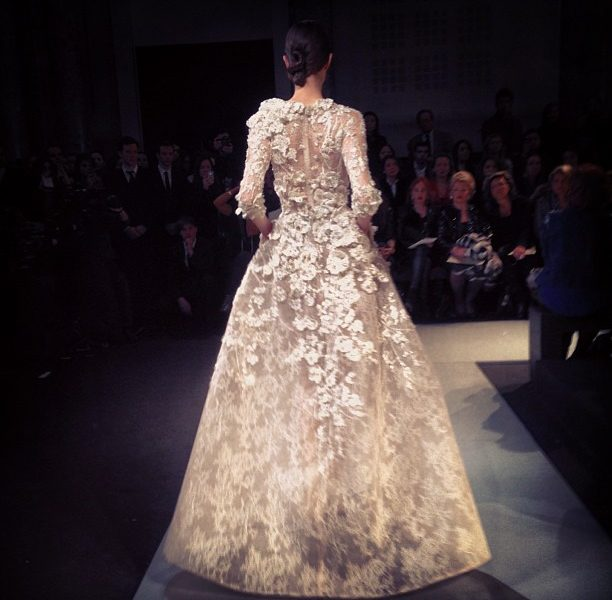 ELIE SAAB HAUTE COUTURE Front Row Video