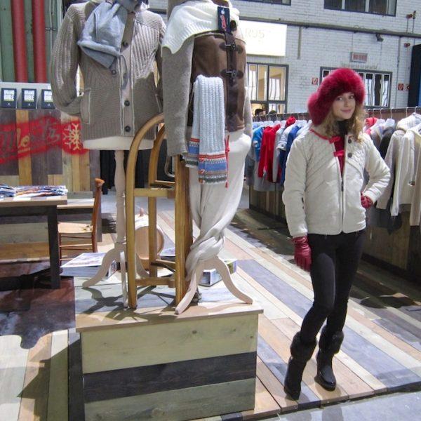 IRINA SCHROTTER Fashion Show in Berlin