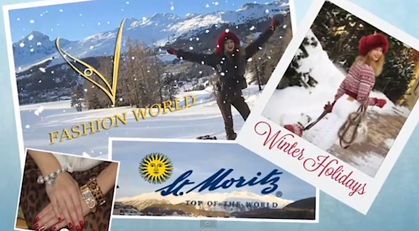 Winter Holidays in St.Moritz The Video