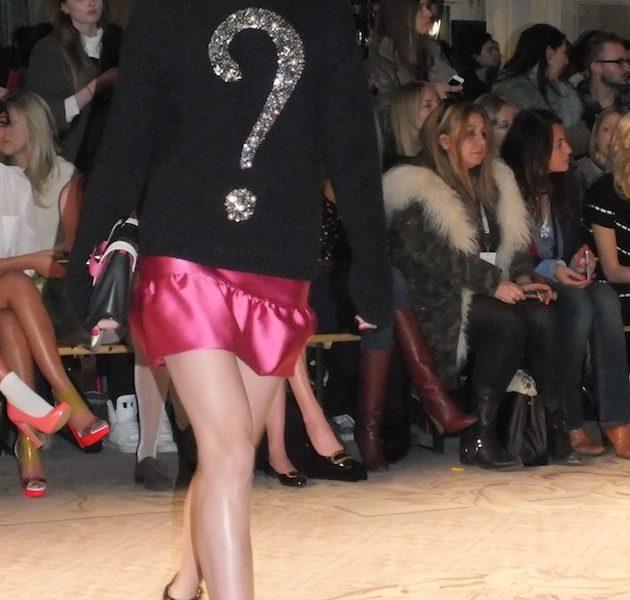 MOSCHINO Cheap & Chic Fashion Show in London